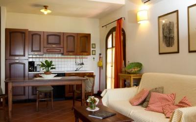 Ferienhaus Toskana 2 Wohnung Melo Wohnraum 06