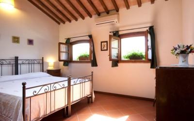 Ferienhaus Toskana 2 Wohnung Pero Schlafgalerie 04