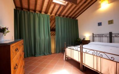 Ferienhaus Toskana 2 Wohnung Pero Schlafgalerie 11