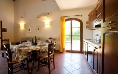 Ferienhaus Toskana 2 Wohnung Pero Wohnraum 04
