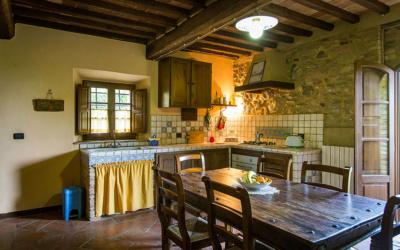 Ferienwohnung Chianni 6 Wohnküche 01