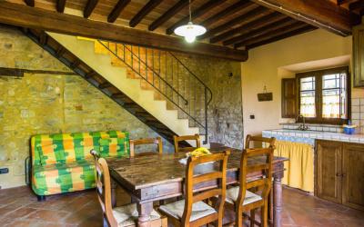 Ferienwohnung Chianni 6 Wohnküche 04