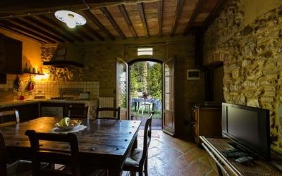 Ferienwohnung Chianni 6 Wohnküche 06