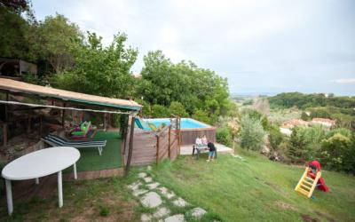 Ferienwohnung Morrona 1 Garten 01