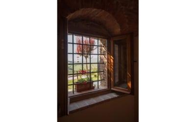 Ferienwohnung Morrona 1 Küchenfenster