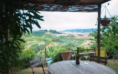 Ferienwohnung Morrona 1 Terrasse 01