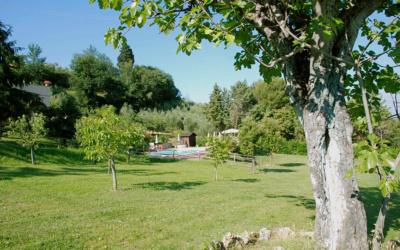 Ferienwohnung Toskana 3 Garten 01