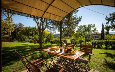 Ferienwohnung Toskana 3 Terrasse 09