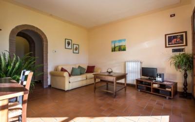 Ferienwohnung Toskana 3 Wohnraum 02