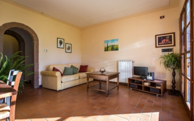 Ferienwohnung Toskana 3 Wohnraum 03