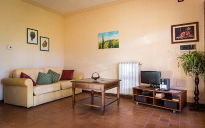 Ferienwohnung Toskana 3 Wohnraum 04