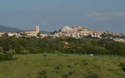 Ferienwohnungen Rosignano 1 Dorf Rosignano