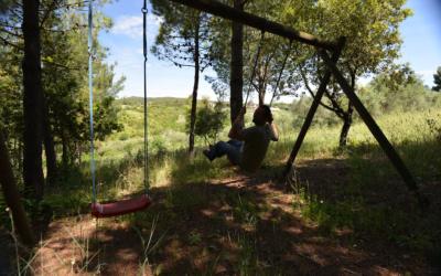 Ferienwohnungen Rosignano 1 Spielwiese (2)