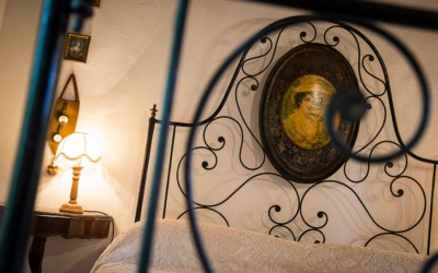 Landvilla Guardistallo Schlafzimmer 23