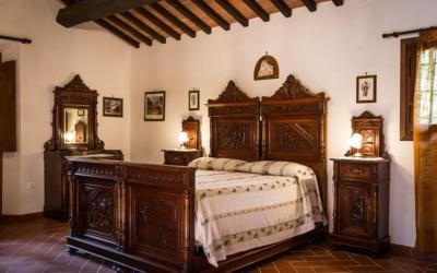 Landvilla Guardistallo Schlafzimmer 28