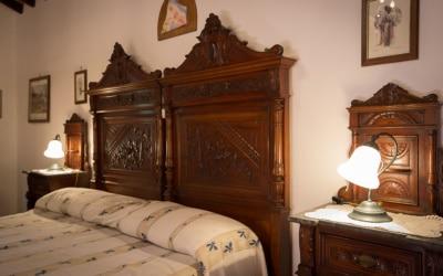 Landvilla Guardistallo Schlafzimmer 32