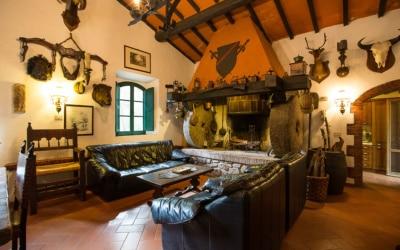 Landvilla Guardistallo Wohnbereich 06