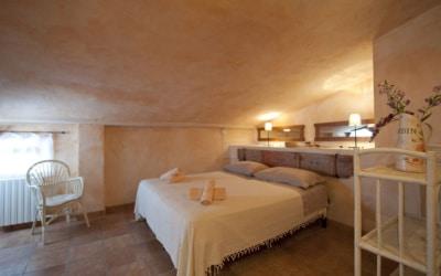 Landvilla Rapolano Terme 1 Schlafzimmer 06