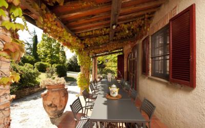Landvilla Rapolano Terme 1 Terrasse 01