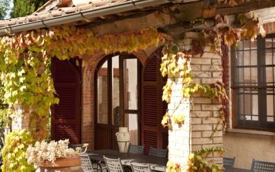 Landvilla Rapolano Terme 1 Terrasse 02