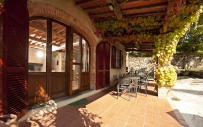 Landvilla Rapolano Terme 1 Terrasse 04