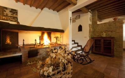 Landvilla Rapolano Terme 1 Wohnraum 02