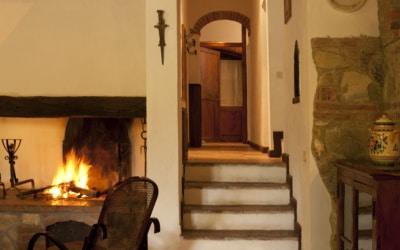 Landvilla Rapolano Terme 1 Wohnraum 03