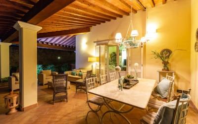 Villa Chianni 9 Terrasse 16