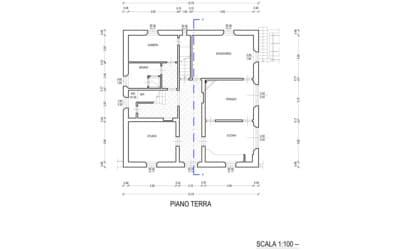 Villa Peccioli 4 Grundriss Erdgeschoss