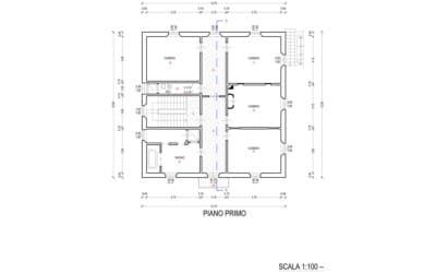 Villa Peccioli 4 Grundriss Obergeschoss