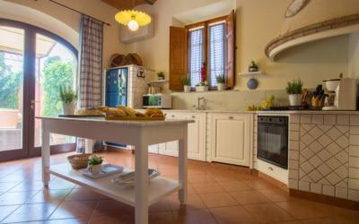 Villa Peccioli 4 Küche 01
