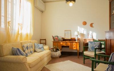 Villa Peccioli 4 Lesezimmer 01