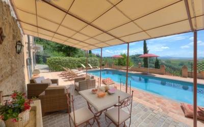 Villa Peccioli 4 Pool 06