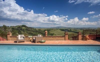 Villa Peccioli 4 Pool 08