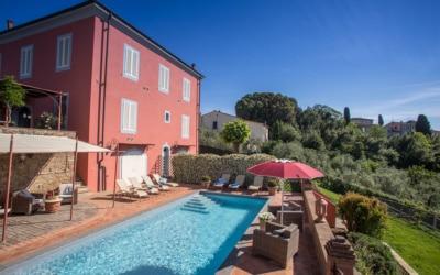 Villa Peccioli 4 Pool 09