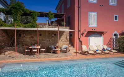 Villa Peccioli 4 Pool 10