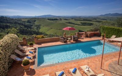 Villa Peccioli 4 Pool 15