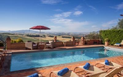 Villa Peccioli 4 Pool 18