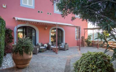 Villa Peccioli 4 Terrasse 01