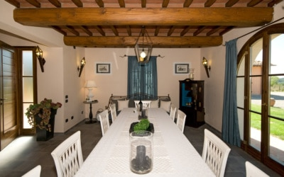Villa Peccioli 5 Esszimmer 03