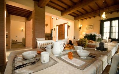 Villa Peccioli 5 Esszimmer 04