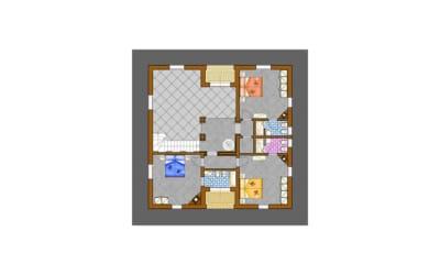 Villa Peccioli 5 Grundriss Obergeschoss