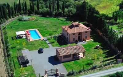 Villa Peccioli 5 Luftaufnahme 01