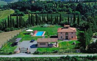 Villa Peccioli 5 Luftaufnahme 03