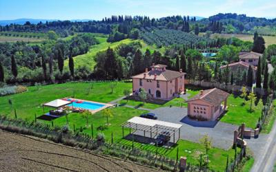Villa Peccioli 5 Luftaufnahme 04