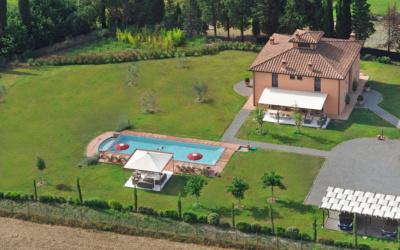 Villa Peccioli 5 Luftaufnahme 06