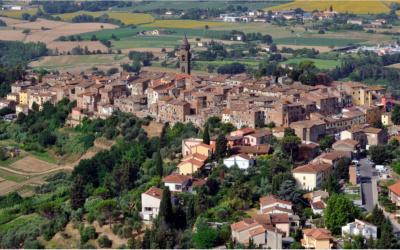Villa Peccioli 5 Luftaufnahme 08