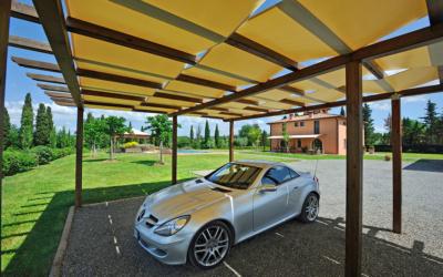 Villa Peccioli 5 Parkplatz 01