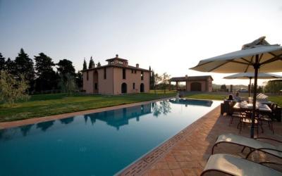 Villa Peccioli 5 Pool 05