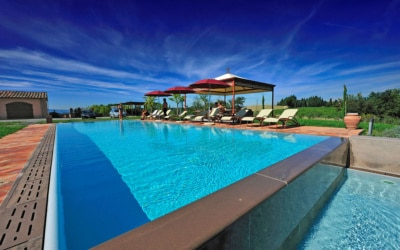 Villa Peccioli 5 Pool 06